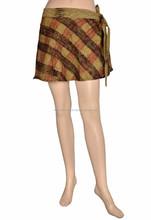 Rajasthani New Fashion Girl Cute Candy Color Splicing Tutu Short Skirt From Jaipuri Bandhej