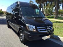 2015 Black 3500 14 Passenger Mercedes Benz Sprinter Limo Van for Sale #1426