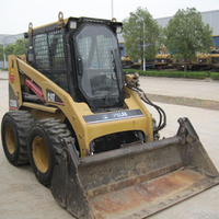 Cheap Used skid steer loader caterpillar 226B for sale