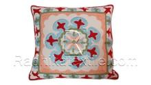 RTHCC-93 Uzbek Suzani Cotton Fabric Cushion Pillow Covers Manufacturs