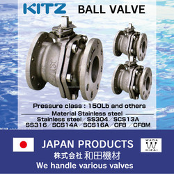 long bonnet ball valve kitz Ball valve HYPATITE PTFE