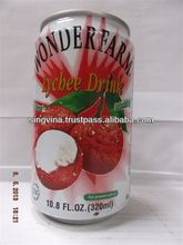 Drink- WONDERFARM Lychee Drink 320ml