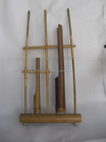 Angklung Small 2 Tubes Melody Bamboo Sundanese Traditional Music Instrument