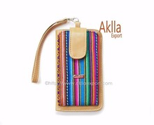 Beautiful Wallets of Blanket and Synthetic Leather in Variety of Colors