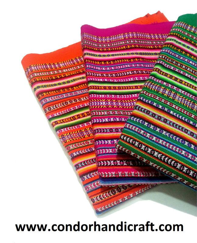 1 Beautiful Peruvian Inca Thick Blanket Peru Fabric Cusco