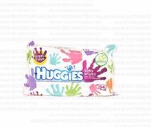 Huggies/Baby Wipes Soft Pack/Everyday Handprint/12/64/ct