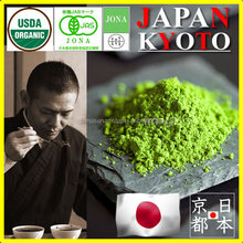 Organic green tea nutrition for Confectionery