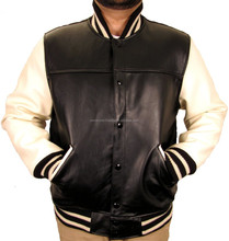 Leather Football Varsity Jacket