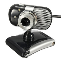 3 LED USB 2.0 5.0Mega CMOS HD 360 Degree Rotation Webcam Web Cam Camera with Mic Microphone For PC Laptop Skype