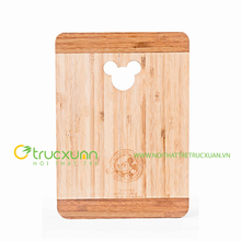 Bamboo cutting board with unique design