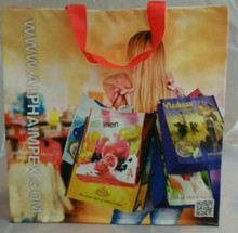 2015 Xmas Promotional CHEAP price, recycled PP woven shopping bag, reusable shopping bag,