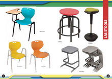 Plastic Chair/Lab Stool