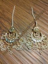 """Diamond Kundan Jewelery"" Latest Earrings Design Collection 2015 For Girls"