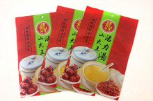 3 side seal for chinese herbal soup material bag,soup base for body healthy,plastic bag for healthy tea benefits