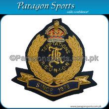Hecho a mano bordada lingotes blazer uniforme insignia ps-115