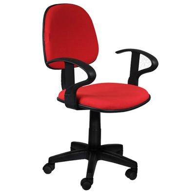 Oficina apoyabrazos tela c moda ni o silla giratoria con for Silla oficina comoda