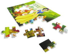 Hot selling sublimation firbreboard puzzle jigsaw