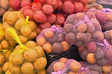 Fresh Potatoes on Sale