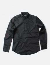 Basic Cotton Henry Neck Shirts