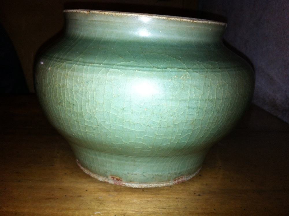 Antique Chinese Celadon Vase Excavated In The Philippines Buy