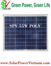 55W Poly solar panel (Solar Viet Nam Poly SPV55W)