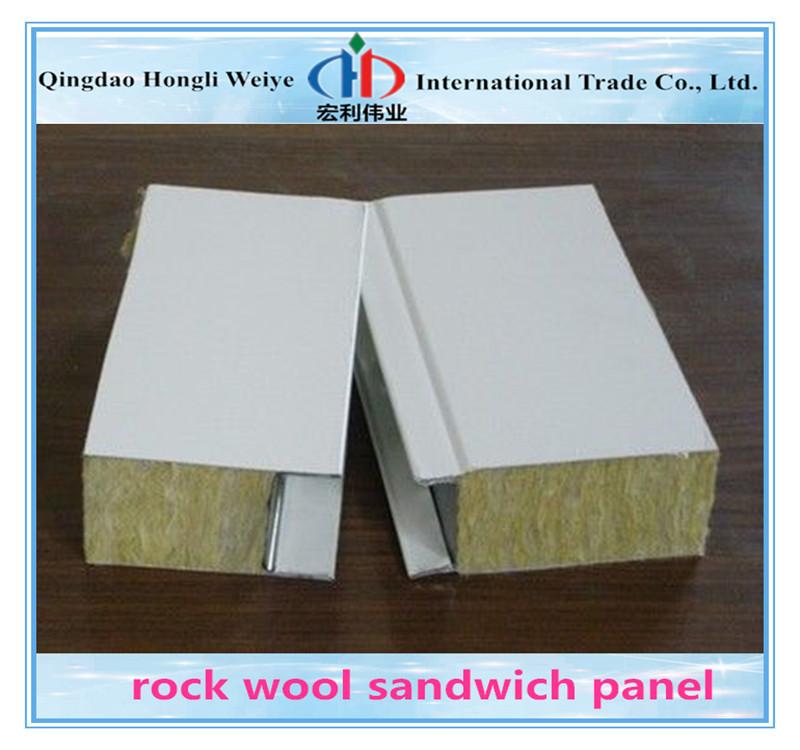 Rock Wool Sandwich Panel : Galvanized roof panels buy corrugated sandwich panel