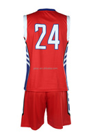 Healong Digital Print Discount sky blue basketball jersey basketball team uniform