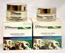 Spa Pharma Moisturizing Intensive Eye Cream Natural Minerals Skin Care Facial