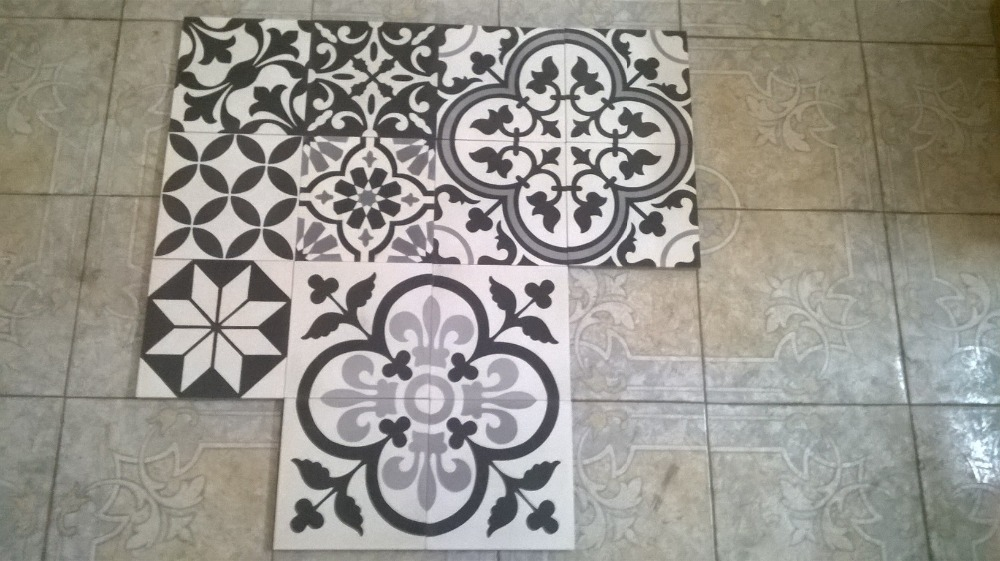 handmade cement tile from vietnam with high quality for