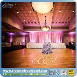 aluminum pipe and drape Wedding decoration