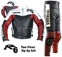 R1 & R6 Motorbike Leather Suit / two piece leather racing suit
