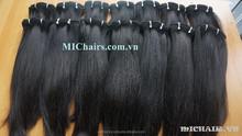 TOP HIGH QUALITY HUMAN HAIR STRAIGHT MACHINE WEFT 100% VIRGIN HAIR