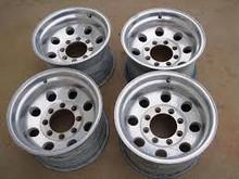 Aluminum wheel rims