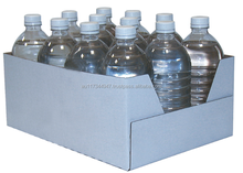 durable mineral water bottle carton box supermarket display box