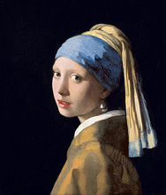 Girl with a Pearl Earring oil painting