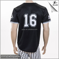 Healong Manufacturers Best Design Baseball Tee Shirts Wholesale
