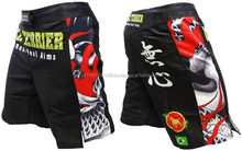 Custom Sublimation MMA fighting shorts/new design custom mm shorts