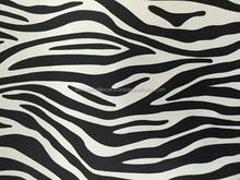 Waterproof umbrella fabric/Silver coated/190T Polyester Pongee/Zebra pattern
