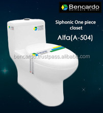 Siphonic One Piece closet - One Piece Toilet - Siphon Flushing - Sanitary ware - Toilet - A- 504
