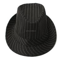 2015 New Fashion Unisex Women Men Casual Trendy Beach Sun Straw Panama Jazz Hat Cowboy Fedora Gangster Cap Stripe Homburg