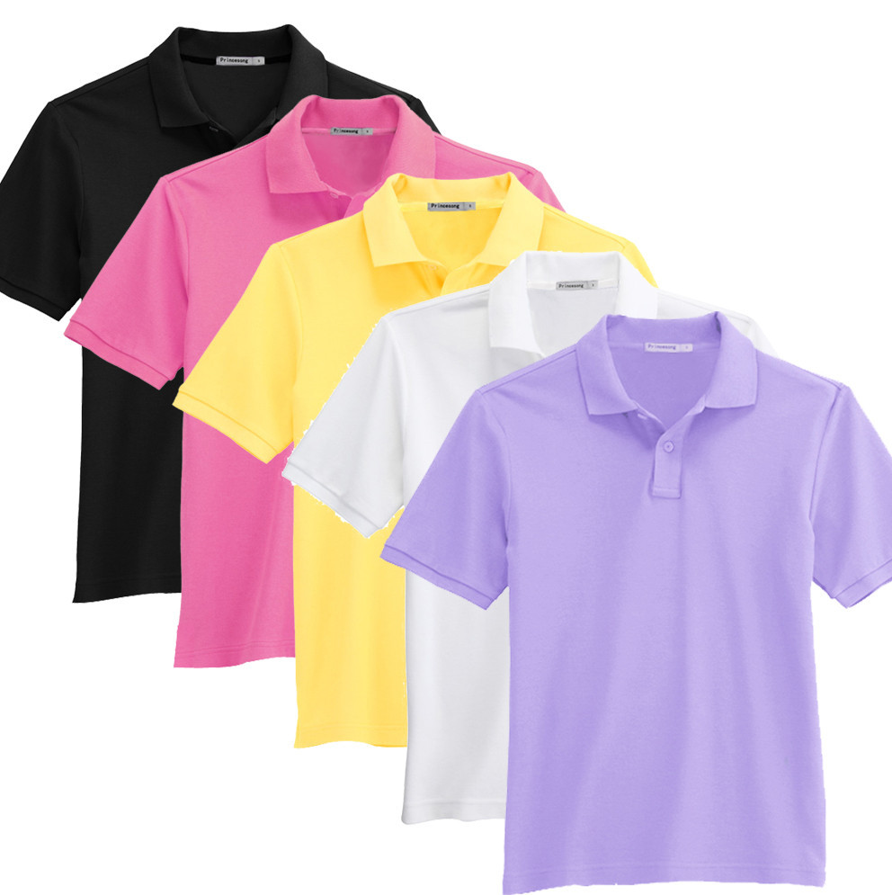 custom solid color men 39 s polo shirt uniform polo t shirt