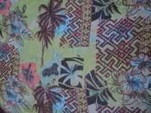 Multi-colored printed design pattern digital printed georgette womans & girls wear garments fabric