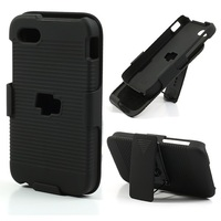 Special Hard Plastic Case with Swivel Belt Clip and Stand for BlackBerry Q5