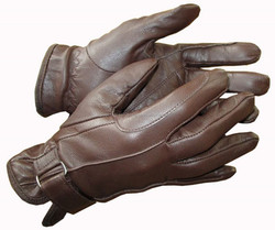 Horse Ridding Real leather Gloves
