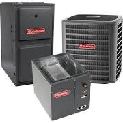Goodman 5 Ton 16 SEER 96% AFUE Gas Electric Air Conditioner System