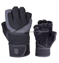 Weight lifting Fitness Training Grip WristWrap Top Quality Glove