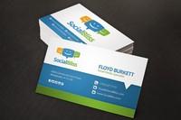Customized design 3d visiting card
