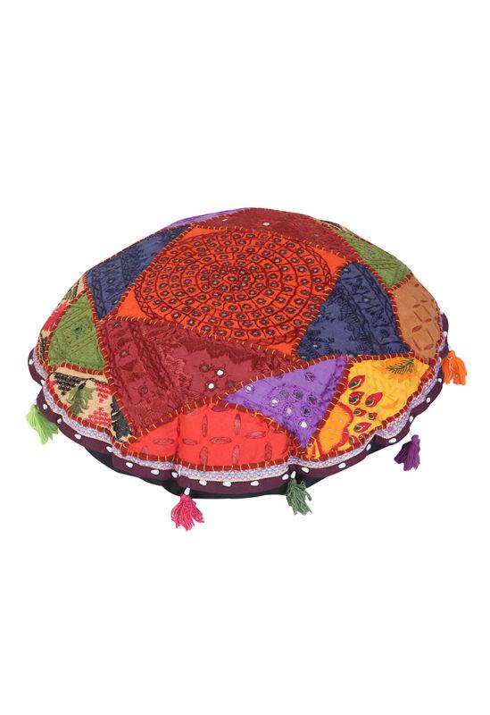 Decoracion de la india finest tarjeta de invitacin con el ornamento de la mandala crculo - Cojines indios ...