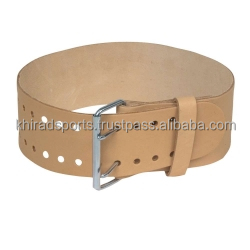 Leather Belts Skin Color for Weight Lifting