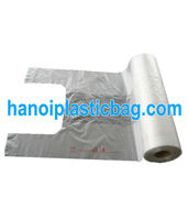 shopper packing plastic high quality bags on roll